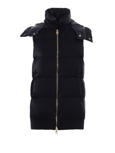 Herno jacket down jacket black