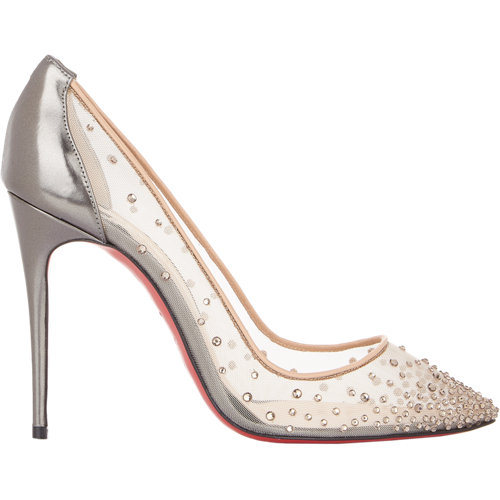 Embellished follies strass pumps at barneys.com