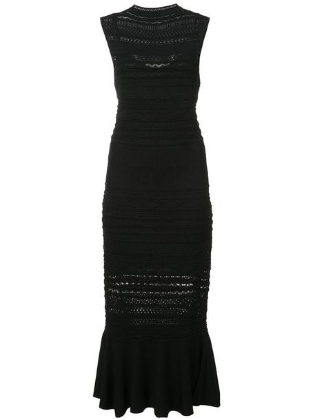 Alexis dress crochet dress women spandex black crochet