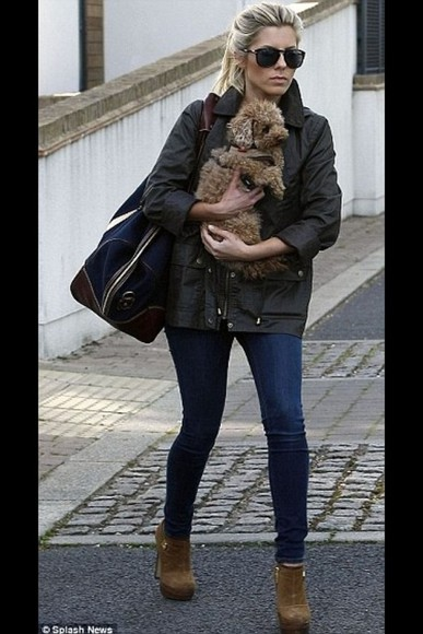 mollie king jacket parka barbour