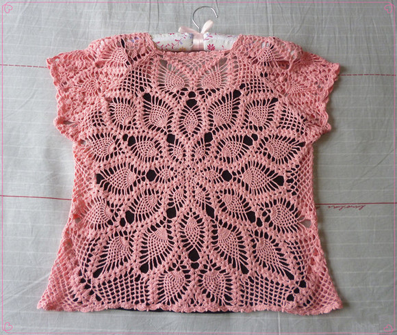 crochet top hand made
