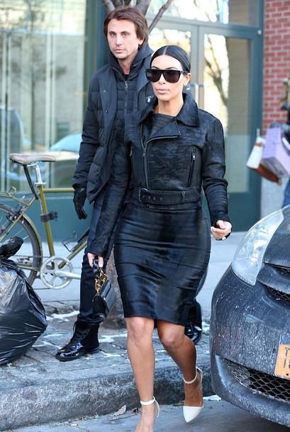 kim kardashian pencil skirt