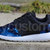 Free Shipping -- Nike Roshe Run Black Gamma Grey Galaxy Print Custom Men