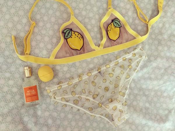 68ee65cf0410b Lemon Triangle Bra