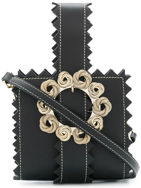Jacquemus women leather black bag