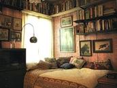 home accessory,orange beddin,bedding,bedroom,home decor,wall paper,pillow,dorm room,vintage,bookshelf,cozy,book,bohemian comforter,lamp,print,painting,throw pillows