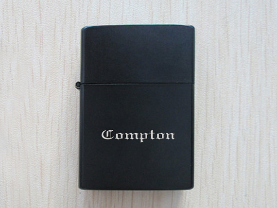 Pp761 compton eazye polished chrome finished lighter by lhlvshop