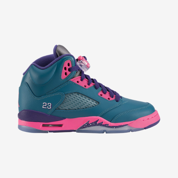 Air Jordan 5 Retro (3.5y-7y) Girls' Shoe