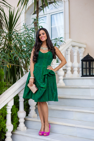 crimenes de la moda blogger dress t-shirt jewels bag shoes