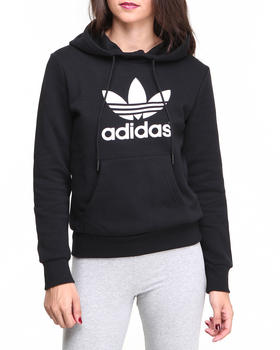 Trefoil Pullover Hoodie Women's Hoodies from Adidas. Find Adidas ...