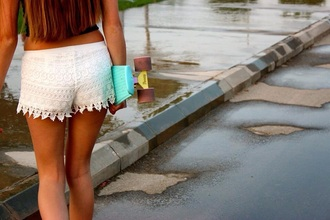 shorts penny board lace shorts home accessory