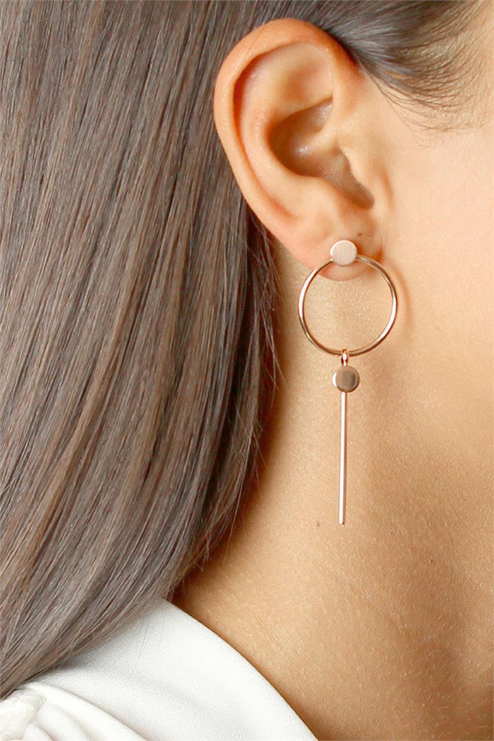 Bad AF Fashion Miranda Statement Earrings