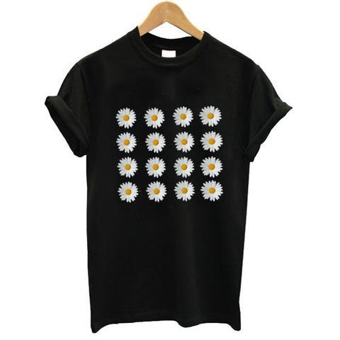 flower daisy tshirt
