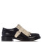 Gomma fringed patent loafers