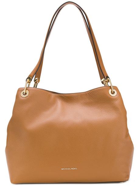 MICHAEL Michael Kors women bag shoulder bag leather brown