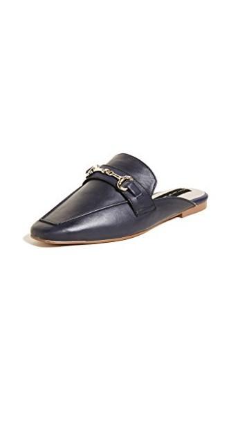 Steven mules navy shoes