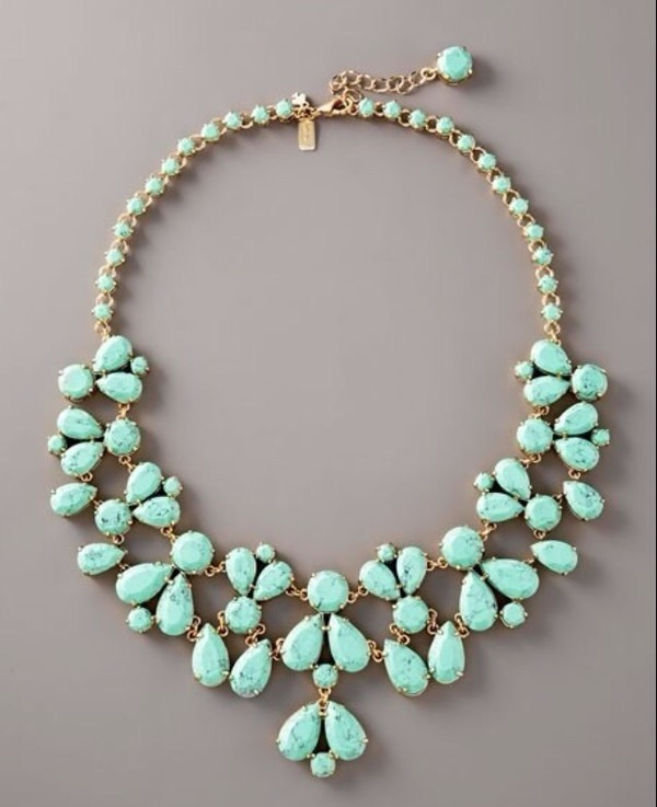 jewels necklace tiffany blue