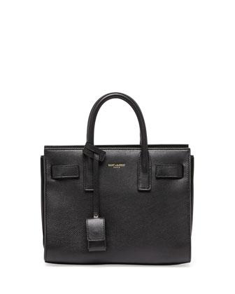 Saint Laurent Sac de Jour Mini Crossbody Bag, Black