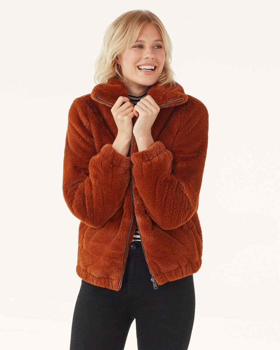 Olympia Faux Fur Jacket