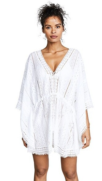 cover up white swimwear