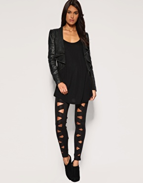 ASOS | ASOS Premium Criss Cross Legging at ASOS