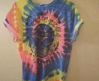 tie dye pierce the veil