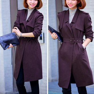 classy popular fashion preppy noble and elegant beauty girl women new cool clothes coat woolen coat long coat warm coat beautiful jumpsuit winter coat streetstyle