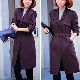 cool coat popular fashion beautiful girl new classy clothes jumpsuit noble and elegant beauty preppy women woolen coat winter coat warm coat long coat streetstyle