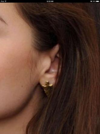 jewels jenna coleman arrow earrings