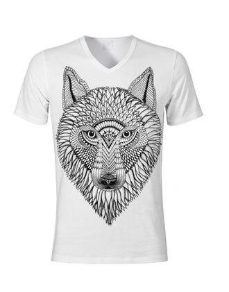 shirt fox design art doodleshirt doodle dog t-shirt lustt for life mens t-shirt hipster menswear