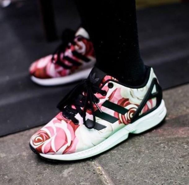 zx flux adidas neon