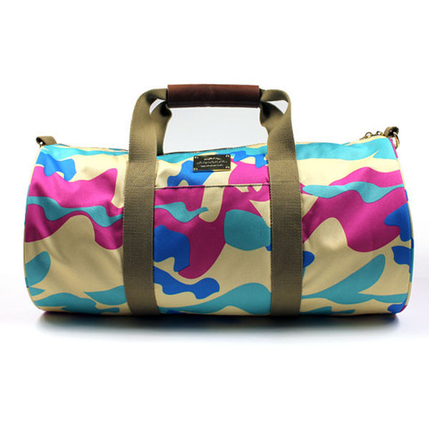 pink dolphin camo duffle by pink dolphin shop pinkdolphinonline com