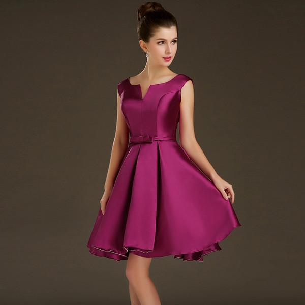 Elegance Slash Pocket Mid Length Formal Dresses Ksp357 Ksp357