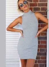 dress,grey dress,grey,cotton dress,cotton,mini dress,mini,fashion,sabo skirt,maxi dress