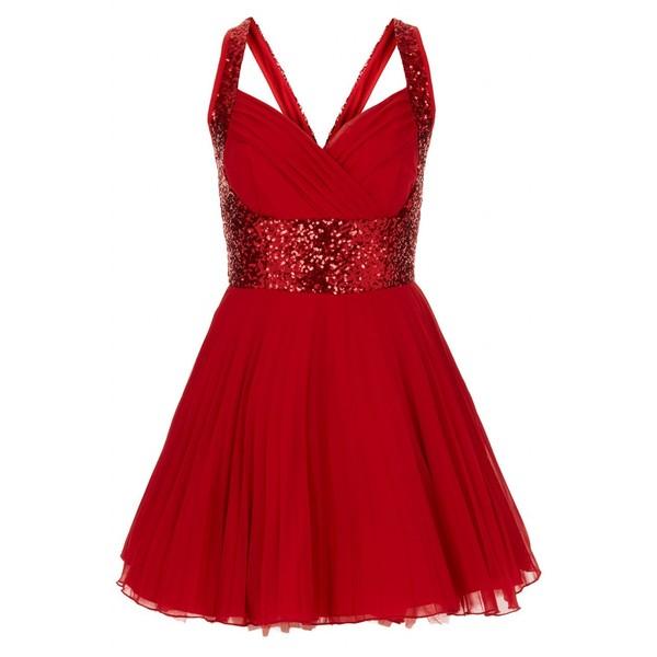 Buy Nina Red Sequin Dress Jones And Jones Fashion