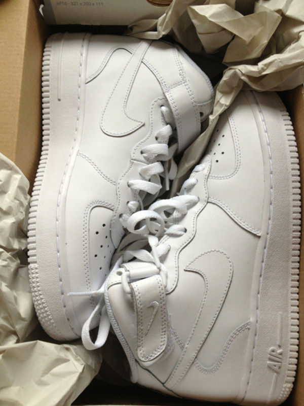 shoes nike air force nike air force 1 nike shoes white nike sneakers sneakers nike nike air mid