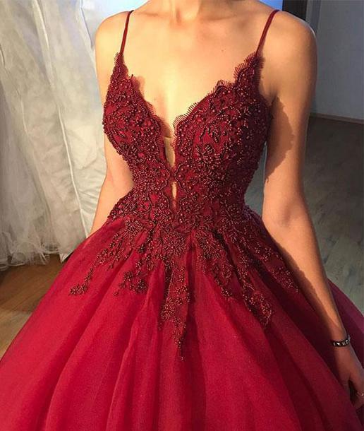 dress, prom dress, prom dress 2018, evening dress, formal ...
