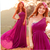 Pretty Purple One Shoulder Chiffon ..