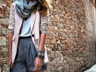 blazer pink mireia my daily style pink jacket jacket