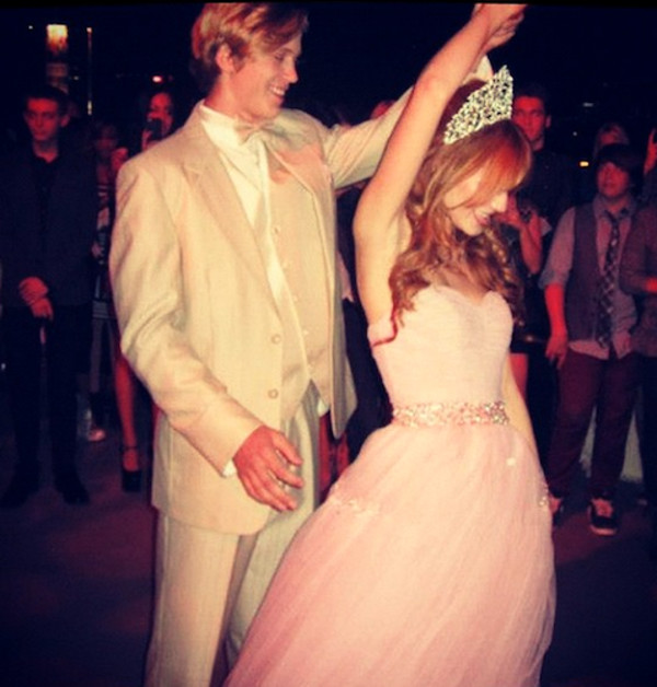 pastel pink pastel pink dress pink bella thorne dress pink dress pastel prom dress homecoming dress