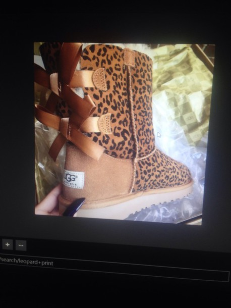 shoes ugg boots cheetah print shoes boots