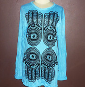 shirt,evil eye shirt,women hippie shirt,fashion street,ladies shirt,ladies clothing,long sleeves,women long shirt,indian clothing,indian fashion,women indian,long clothing,cotton shirt,hand print,hand shirt,evil eye shirt hipster,screen printed,women tshirt,women's clothing,women t shirts,women clothing,Clothing studs,women tshirts,desinger,hindu design,hindu shirt,indian shirt,hippic t-shirt,indian head,indian,hindu fashion,t-shirt,streetwear,streetstyle,casual,spring outfits,spring dress,women dress,women fashion,for my birthday,gifts for her,goth hipster,cotton dress