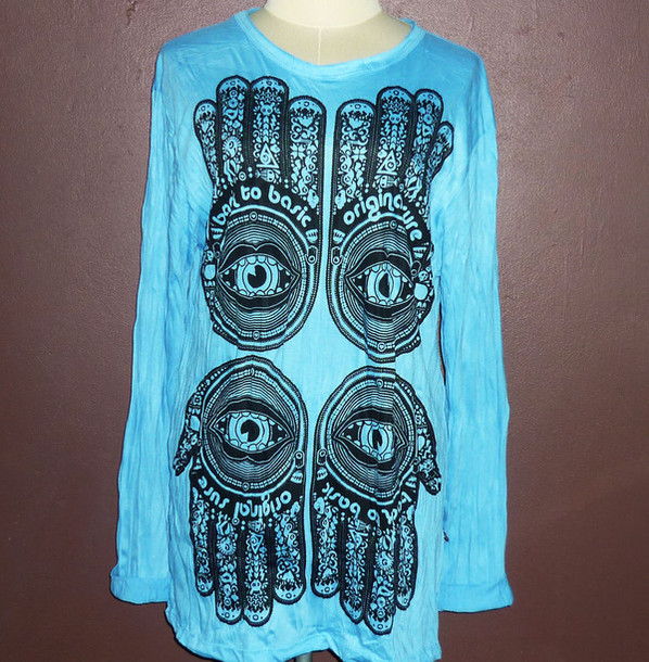 shirt evil eye shirt women hippie shirt fashion street ladies shirt ladies clothing long sleeves women long shirt indian clothing indian fashion women indian long clothing cotton shirt hand print hand shirt evil eye shirt hipster long sleeves screen printed women tshirt women's clothing women t shirts women clothing Clothing studs women tshirts desinger hindu design hindu shirt indian shirt hippic t-shirt indian head indian hindu fashion t-shirt t-shirt streetwear streetstyle streetwear casual spring outfits spring dress women dress women fashion for my birthday gifts for her goth hipster cotton dress
