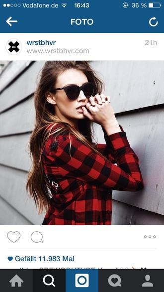 sunglasses black sunglasses black wrstbhvr girly girl nice style worstbehavior brownie girlythings
