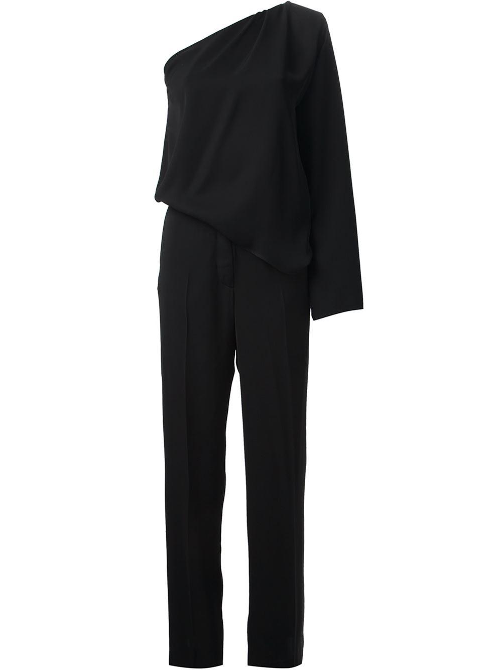 Maison martin margiela asymmetrical jumpsuit