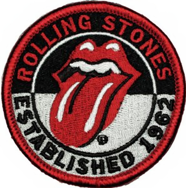 On patch established 1962 tongue logo