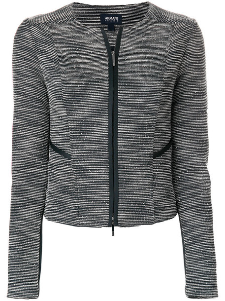 ARMANI JEANS jacket women spandex blue