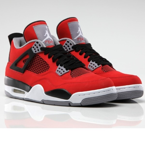 shoes red air jordan