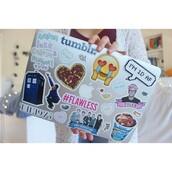 home accessory,mac stickers,laptop,computer sticker,computer accessory,stickers,the 1975,tumblr,smiley,ashton irwin,luke hemmings,calum hood,michael clifford,heart,tyler oakley,flawless
