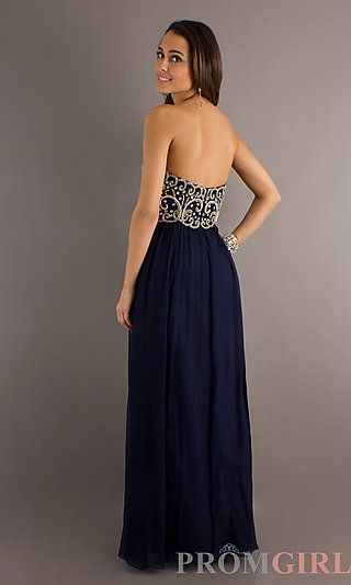 Beaded Prom Dresses- Sean Collection Gown- PromGirl